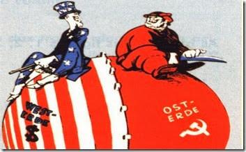 Como la Guerra fría entre comunistas y capitalista son los responsables de las guerras modernas.